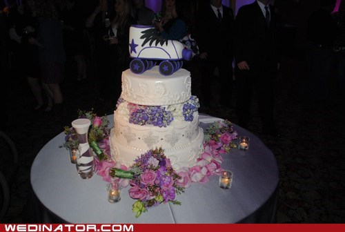 What Would You Put on a Roller Derby Wedding Cake?