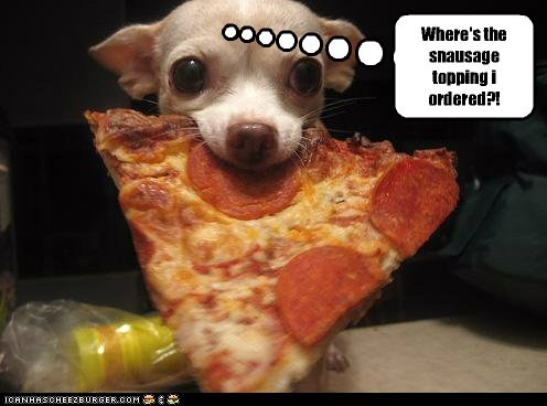 Most Requested Pizza Topping by Dogs