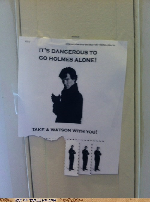 TV,Sherlock,take one