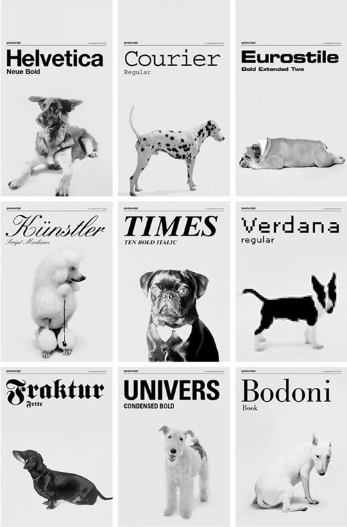 These Dogs Could Teach You a Thing or Two About Typography