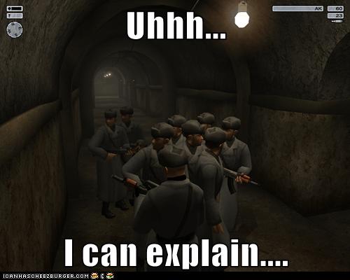 Uhhh...  I can explain....