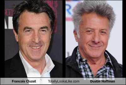 Francois Cluzet Totally Looks Like Dustin Hoffman