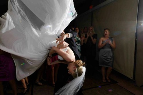 OMG What Are You Doing to the Bride?