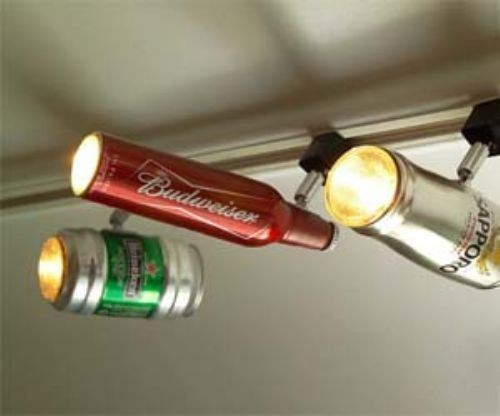 That's One Way to Reuse Your Bottles and Cans