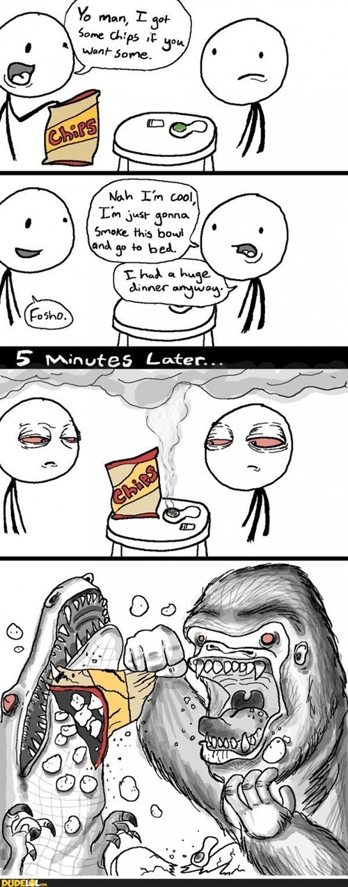 Attack of the Munchies