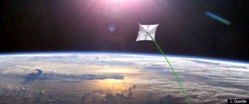 One Large Solar Sail Launches in 2014