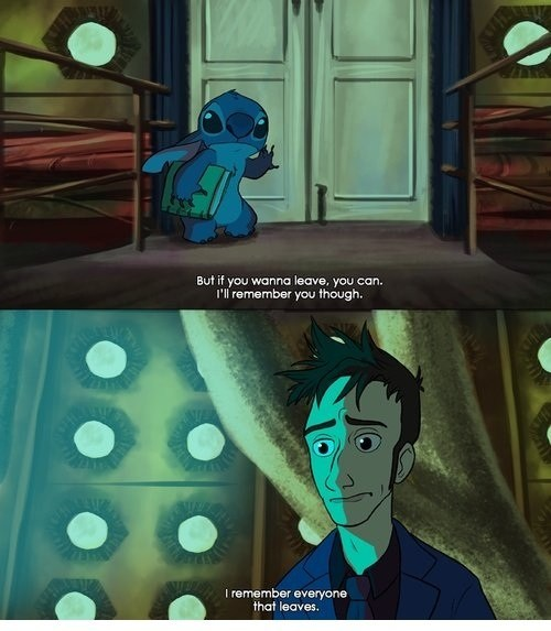 crossover,feels,doctor who,lilo and stitch