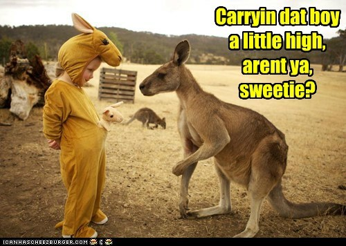 I remain unconvinced dat you iz a real roo