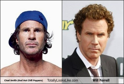 Chad Smith (Red Hot Chili Peppers) Totally Looks Like Will Ferrell