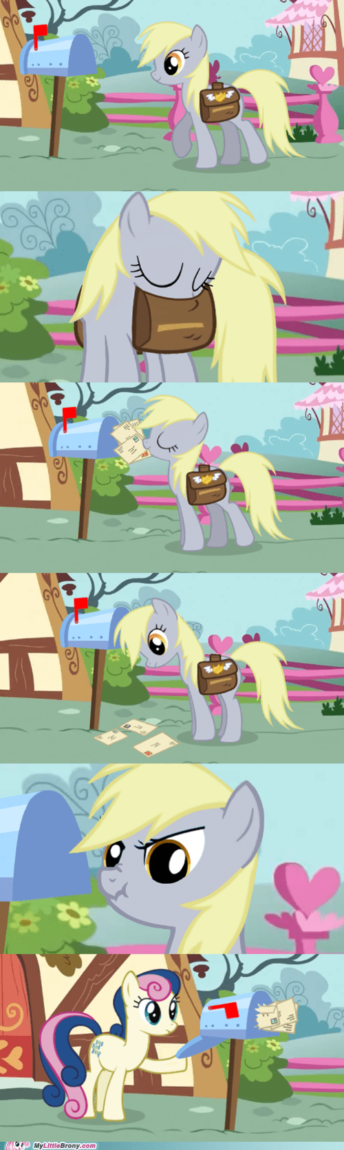 bolt of stone,derpy hooves,comic,best for last