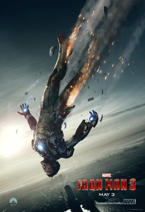 "First Look: New ""Iron Man 3"" Poster"