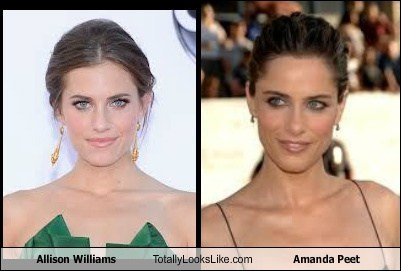 Allison Williams Totally Looks Like Amanda Peet