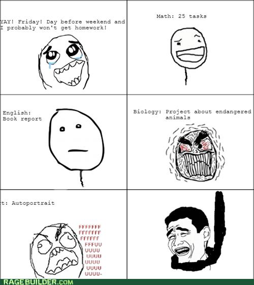 Homework Rage!