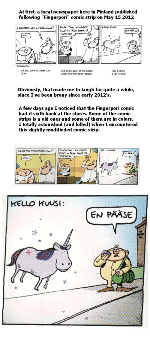 Fingerpori comic strip