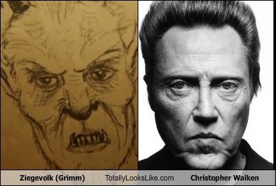 Ziegevolk (Grimm) Totally Looks Like Christopher Walken