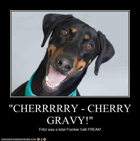 """CHERRRRRY - CHERRY GRAVY!"""