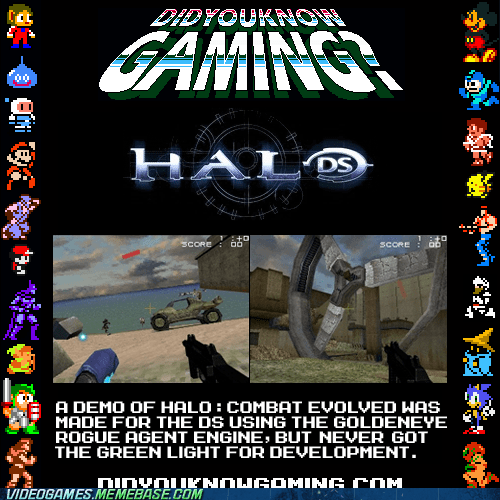 There was Halo DS once ago.