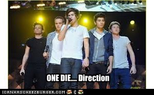 ONE DIE.... Direction