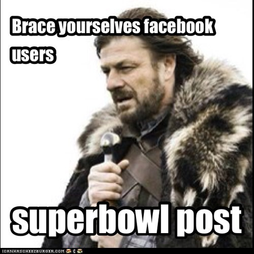 Brace yourselves facebook users