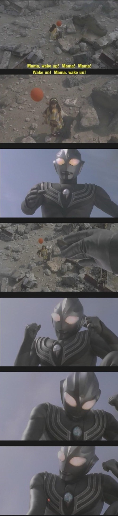 Did Ultraman Just Punch a Child?