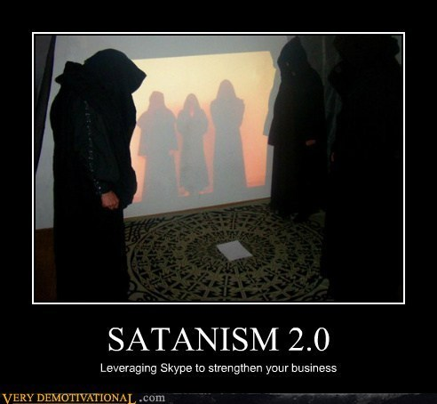 Some Seriously Clever Devil Worshipers