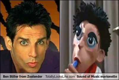 Ben Stiller from Zoolander Totally Looks Like Sound of Music marionette