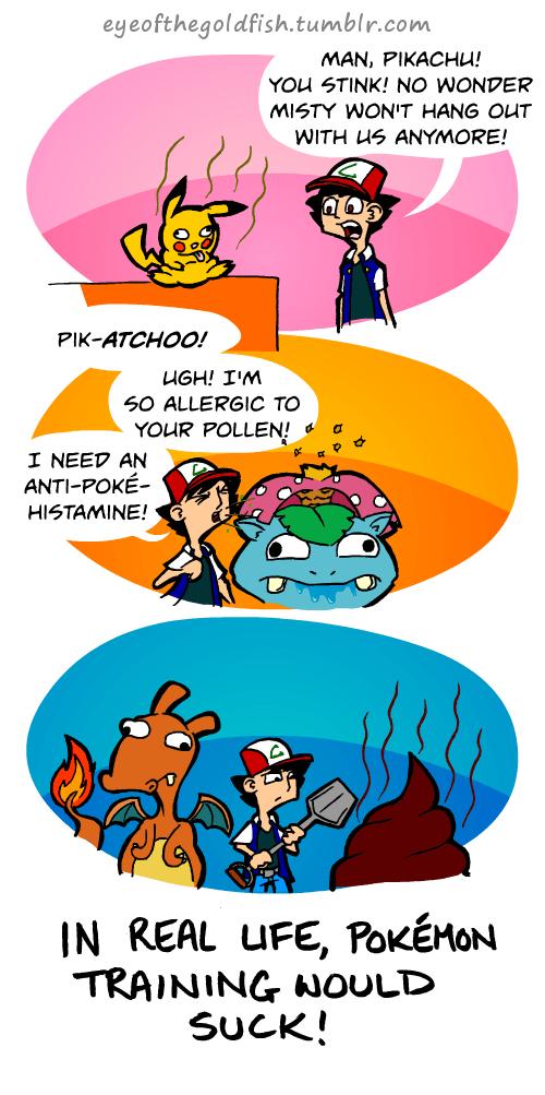 Pokémon,IRL,problems,comic