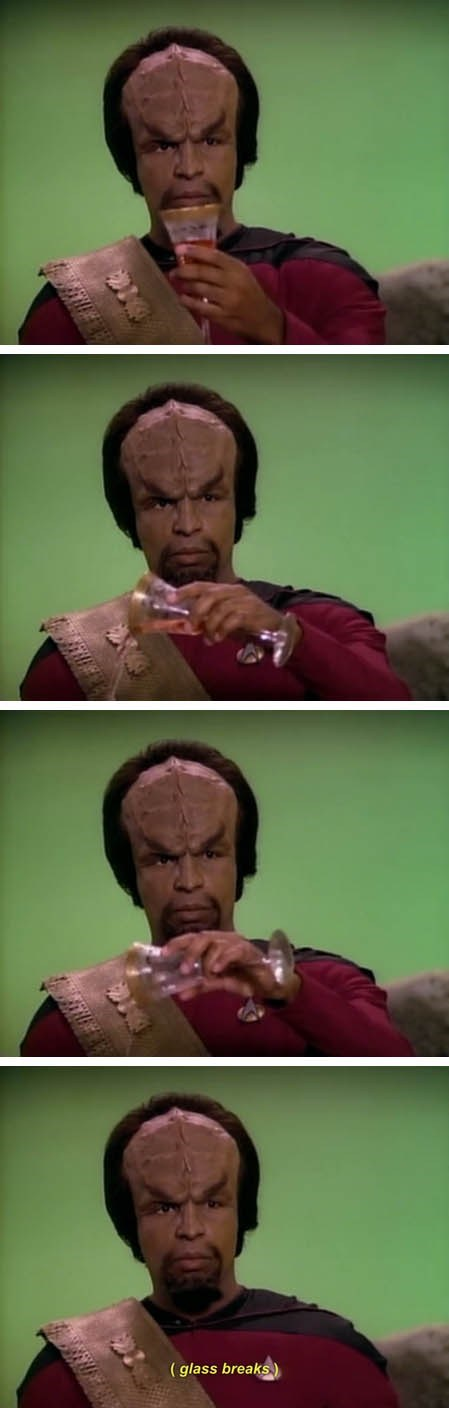 And One for My Klingon Homies