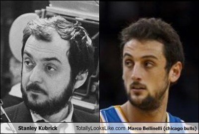 Stanley Kubrick Totally Looks Like Marco Bellinelli (Chicago Bulls)