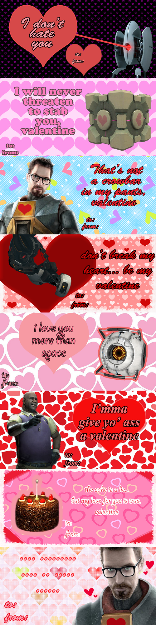 These Valve Valentine's Day Cards Are Not a Lie