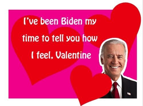Biden Wishes You a Happy Valentine's Day