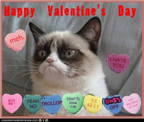 Hab a bery Grumpy Valentinez Day