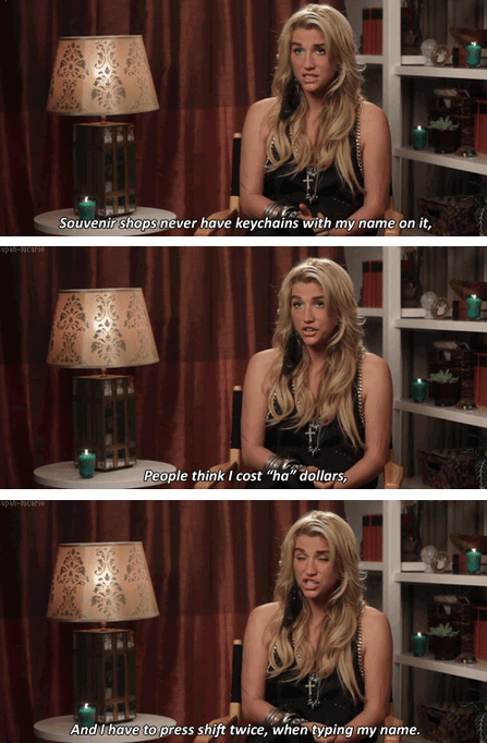 The Difficulties of Being Ke$ha