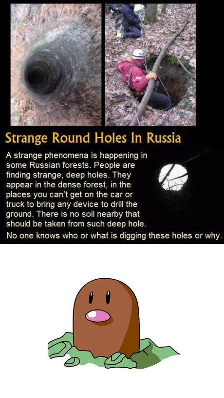 Diglett Wednesday: The Answer to Strange Holes