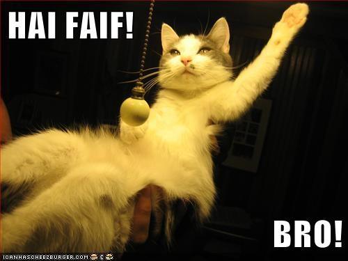 HAI FAIF!  BRO!