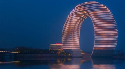 Visit This Horseshoe Hotel in China!
