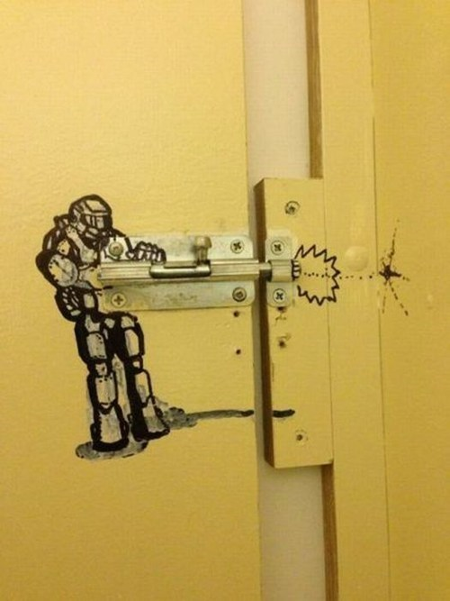 This Door Knows How to Blast the Flood