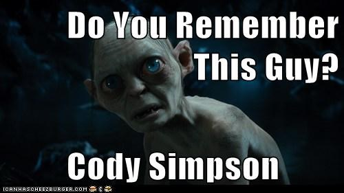 Do You Remember This Guy?  Cody Simpson