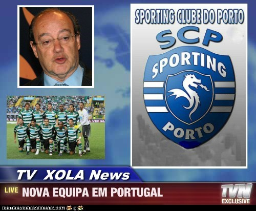 TV  XOLA News - NOVA EQUIPA EM PORTUGAL