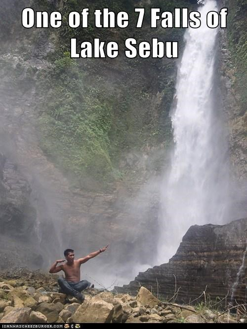 One of the 7 Falls of Lake Sebu
