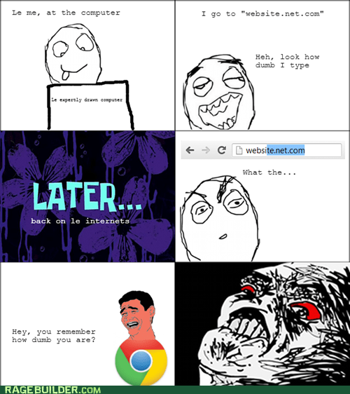 Chrome, Stop Mocking Me!