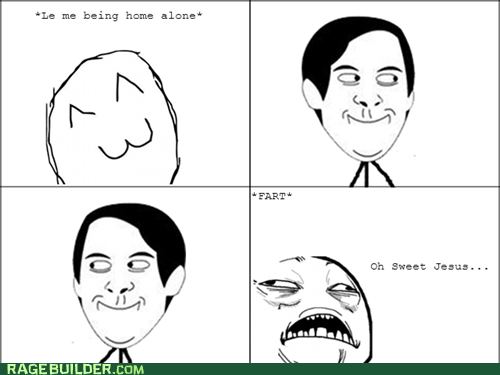 Home Alone,sweet jesus,fart