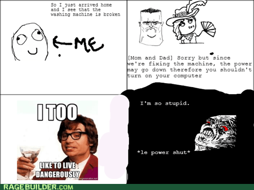 Power Shut Rage