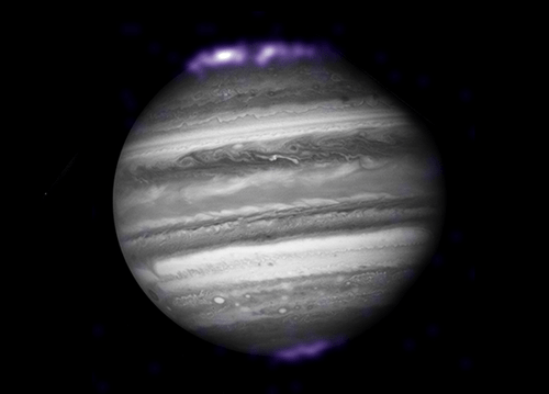 Gorgeous Aurora Over Jupiter