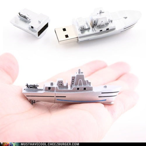 Naval Ship USB Flash Drive