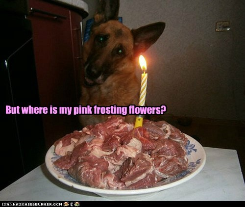 But where is my pink frosting flowers?
