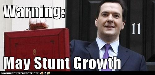 Warning:  May Stunt Growth