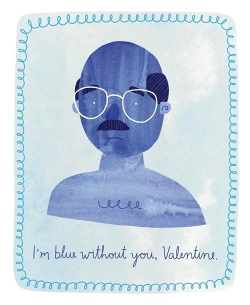 blue,tobias fünke,arrested development,Valentines day