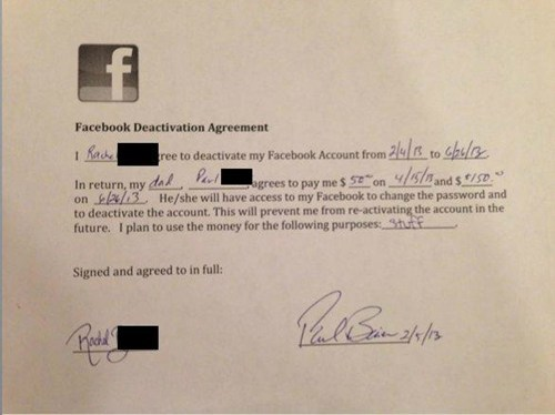 deactivate facebook,delete facebook,parenting,dad,failbook,g rated
