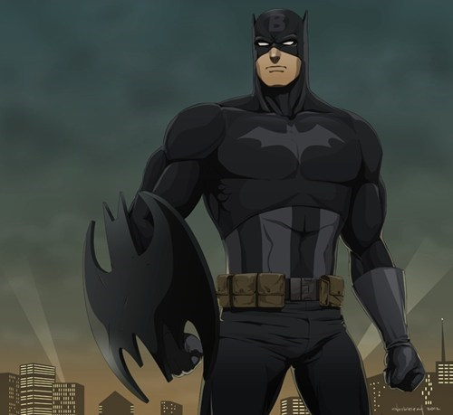Captain Bat - Justice League...Assemble?